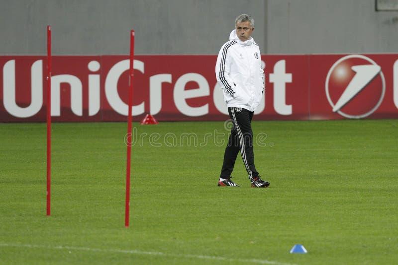 Jose Mourinho fotografie stock libere da diritti