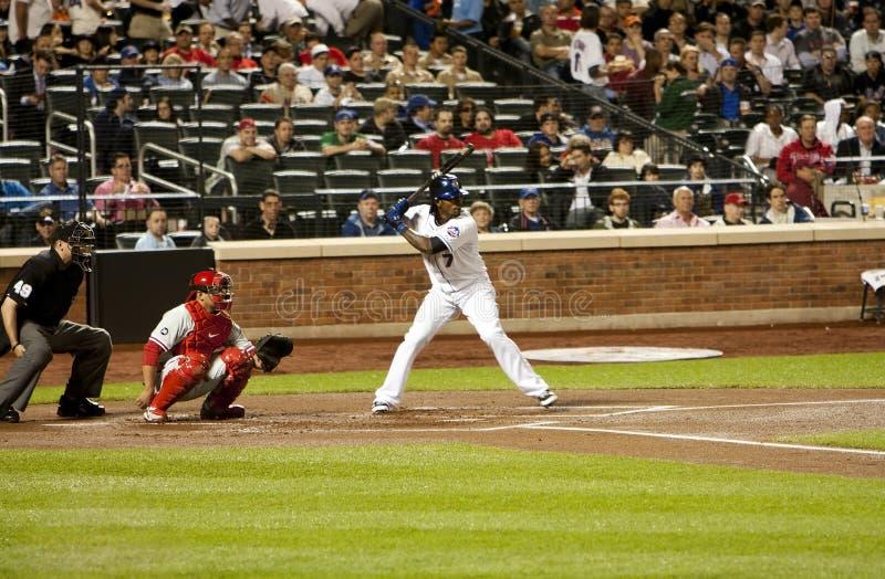 Jose Reyes and Carlos Ruiz - Baseball royalty free stock photo