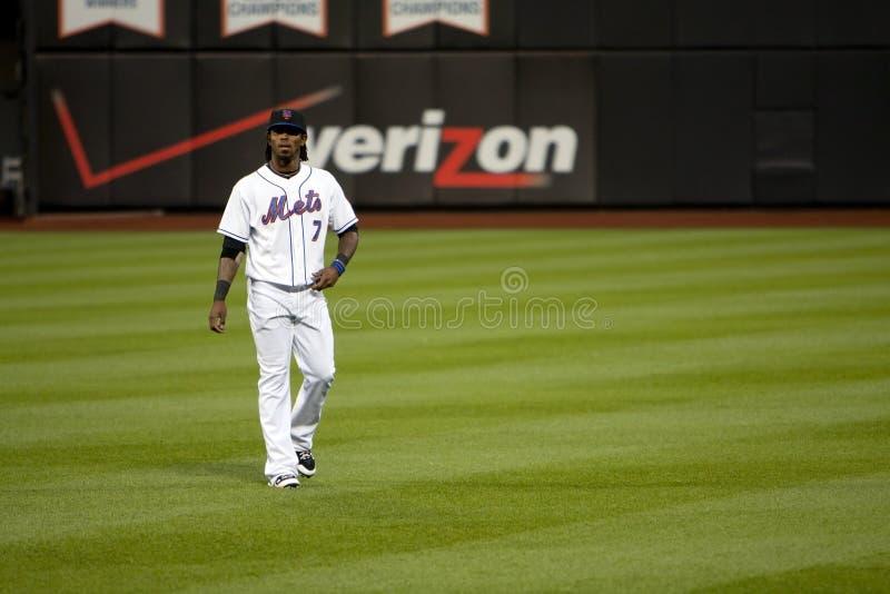 Jose Reyes - Mets Baseball player stock photo