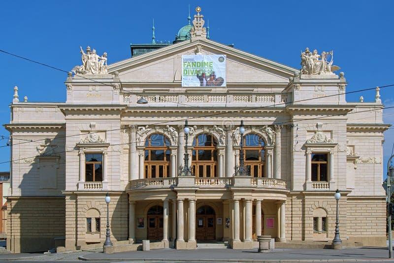 Josef Kajetan Tyl Theatre in Plzen, Tschechische Republik lizenzfreies stockbild
