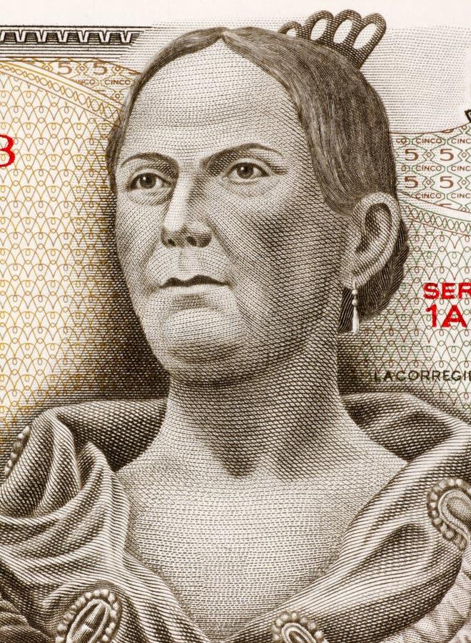 Josefa Ortiz de Domínguez foto de stock