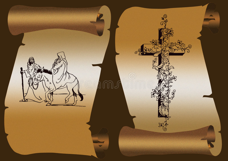 Download Joseph stock illustration. Image of scroll, paper, christ - 2452958