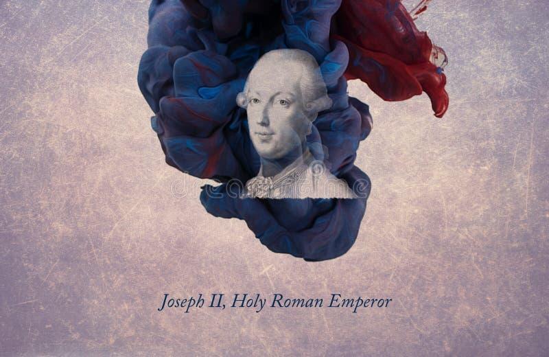 Joseph II, Roman Emperor santamente ilustração royalty free