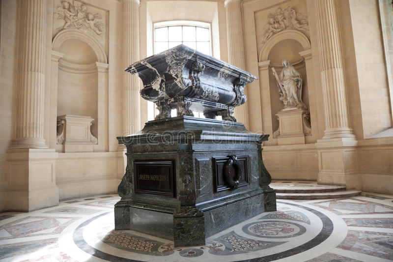 Download Joseph Napoleon tomb stock image. Image of mausoleum - 16359633