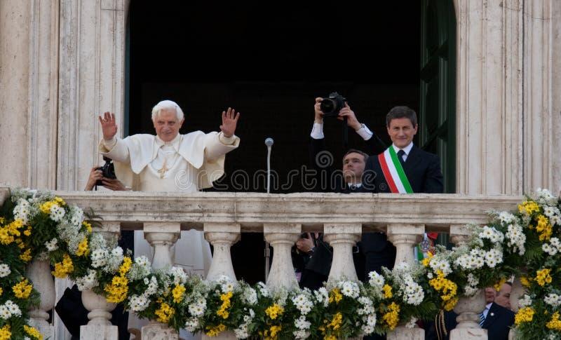 Joseph Ratzinger royalty free stock photos