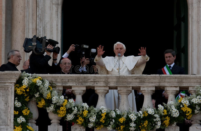 Joseph Ratzinger stock photography