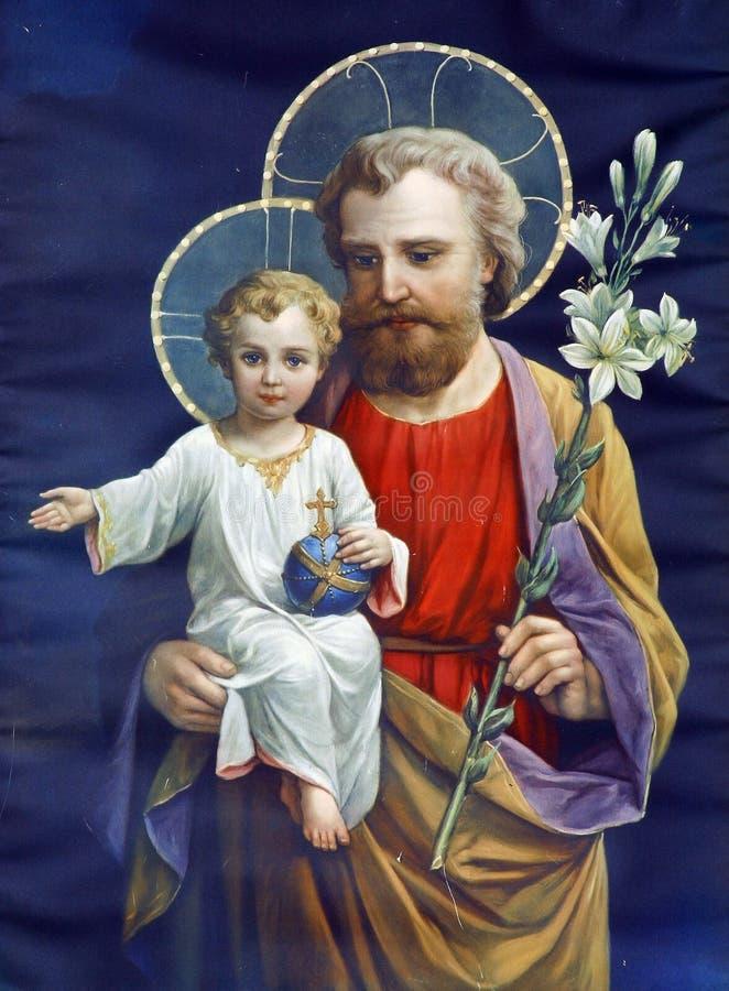 joseph saint arkivbild
