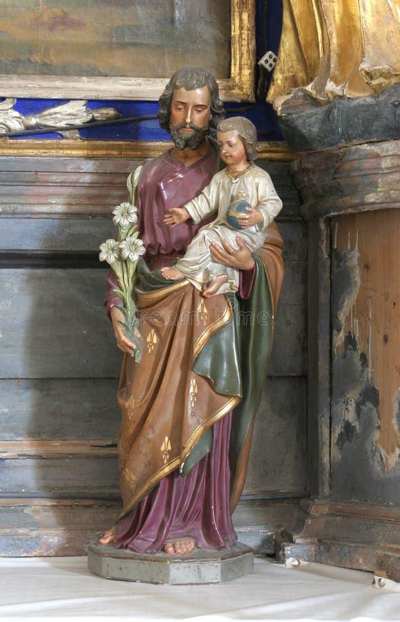 joseph saint royaltyfri fotografi