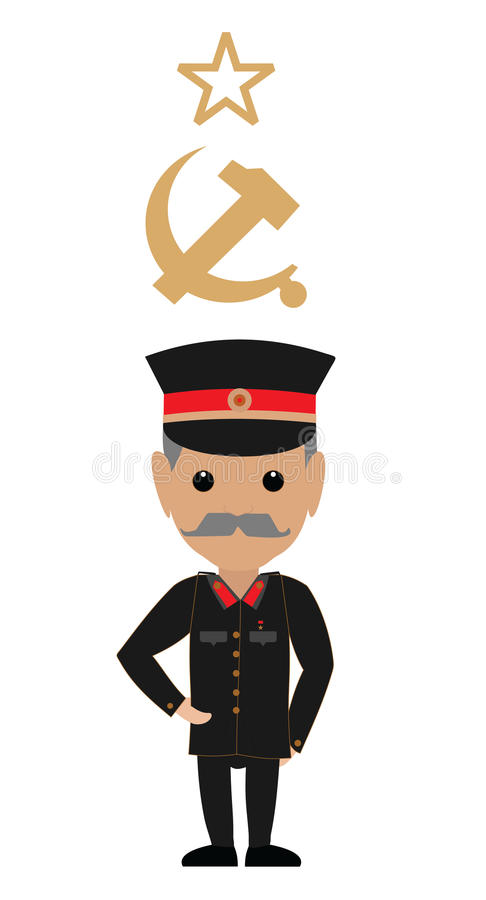 Joseph Stalin 库存图片