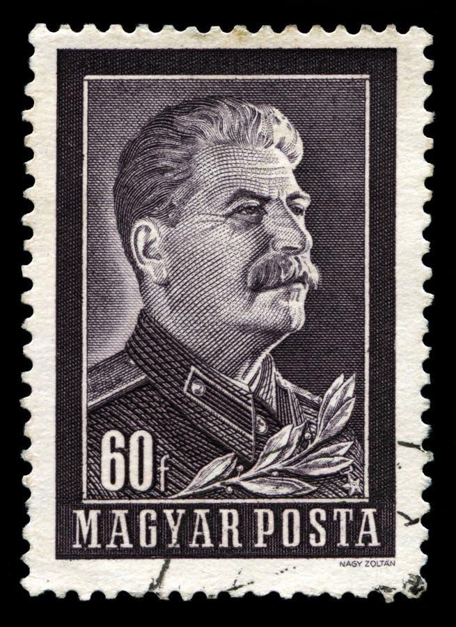 Joseph Stalin Vintage Postage Stamp fotografia de stock