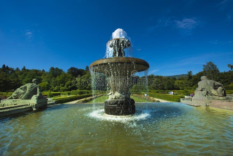 Josephine Fountain_Baden-Baden, Niemcy obraz stock