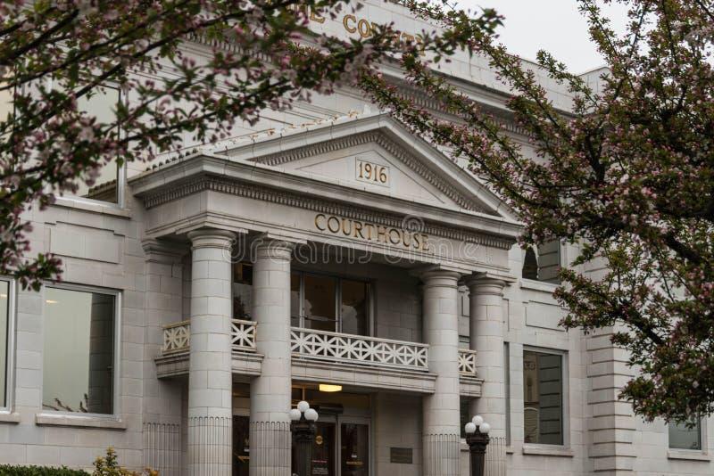 Josephine okręgu administracyjnego gmach sądu zdjęcia royalty free