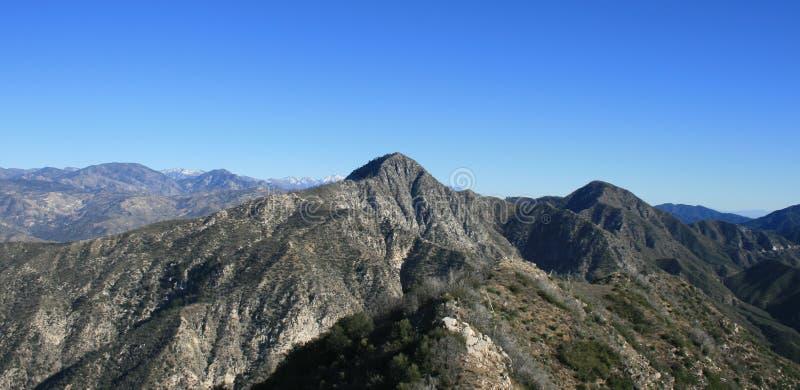 Josephine Peak Panorama lizenzfreie stockfotos