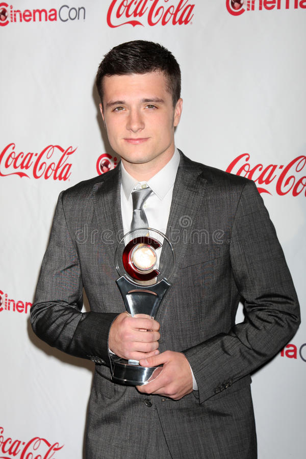 Download Josh Hutcherson Arrives At The CinemaCon 2012 Talent Awards Editorial Photo - Image: 25373511