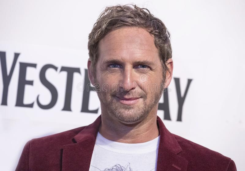 Josh Lucas at World Premiere of `Yesterday` at 2019 Tribeca Film Festival. Film actor Josh Lucas arrives at the World Premiere of `Yesterday,`  Closing Night stock images
