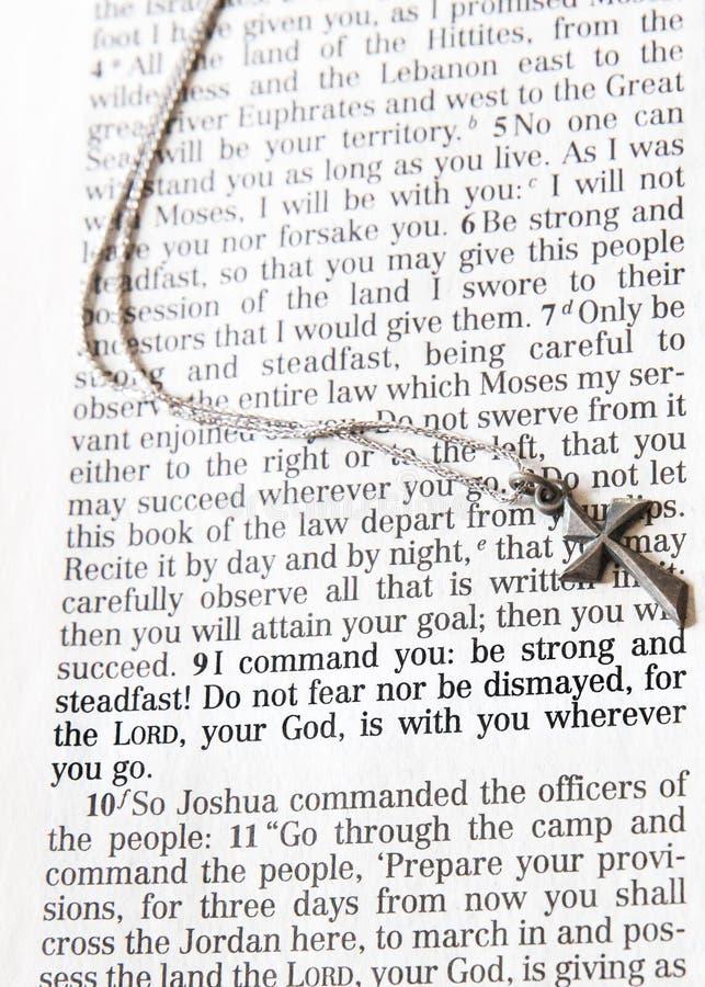 Joshua 1:9 fotografia stock
