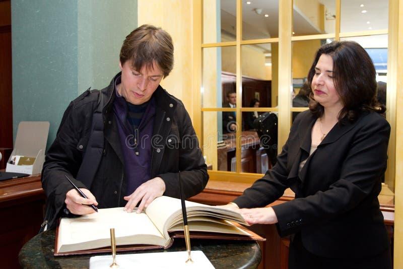 Joshua Bell fotografía de archivo