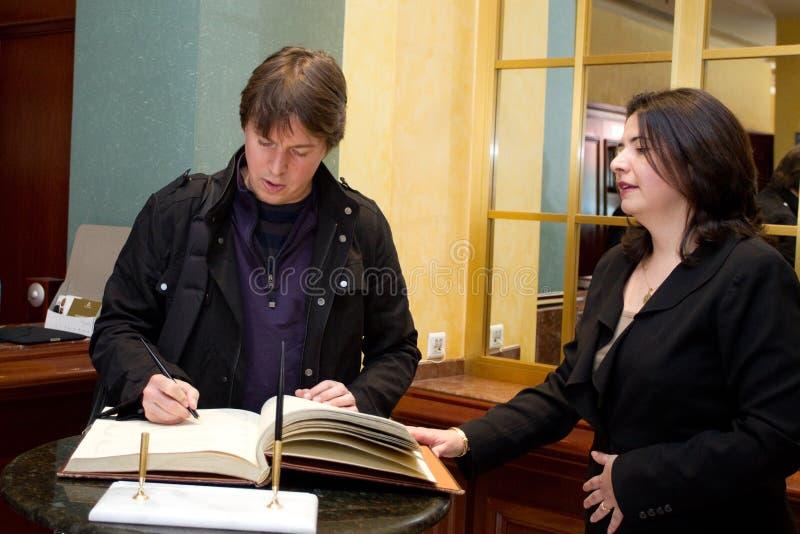 Joshua Bell imagem de stock royalty free