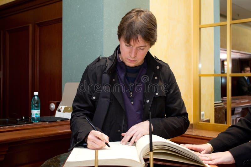 Joshua Bell foto de archivo libre de regalías
