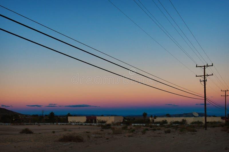 Joshua Tree Desert immagini stock libere da diritti
