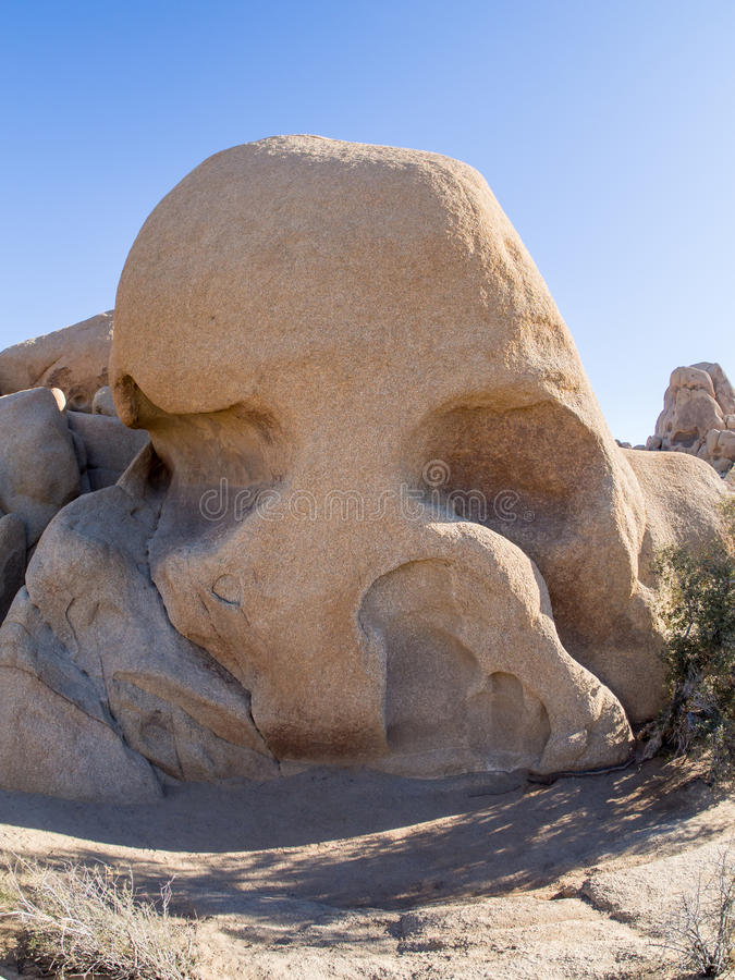Joshua Tree National Park. Skull Rock. Joshua Tree National Park is immense, nearly 800,000 acres, and infinitely variable. It can seem unwelcoming, even brutal stock images
