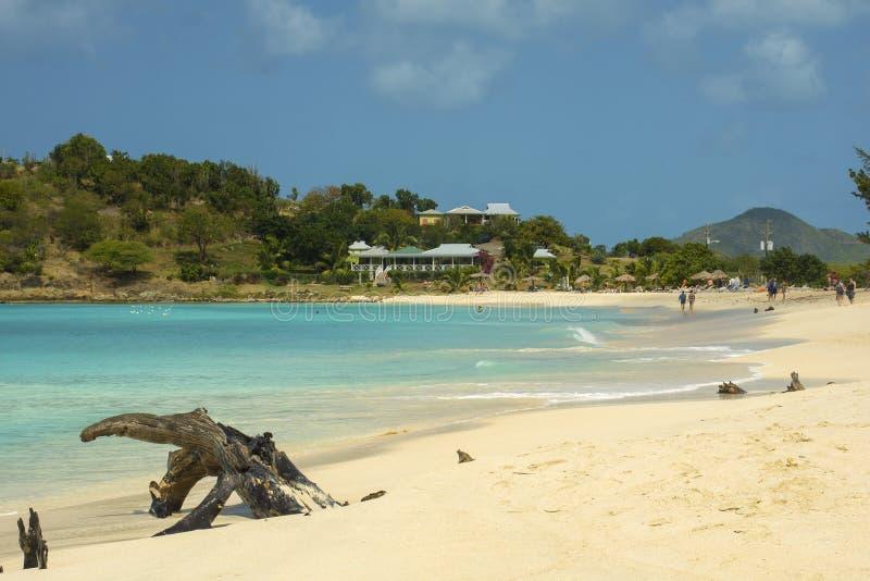 Josiah's Bay, Tortola, British Virgin Islands. A a great place to swim, snorkel, sunbathe or just relax stock photography