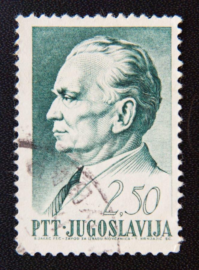 Josip Broz Tito, cerca de 1968 imagens de stock