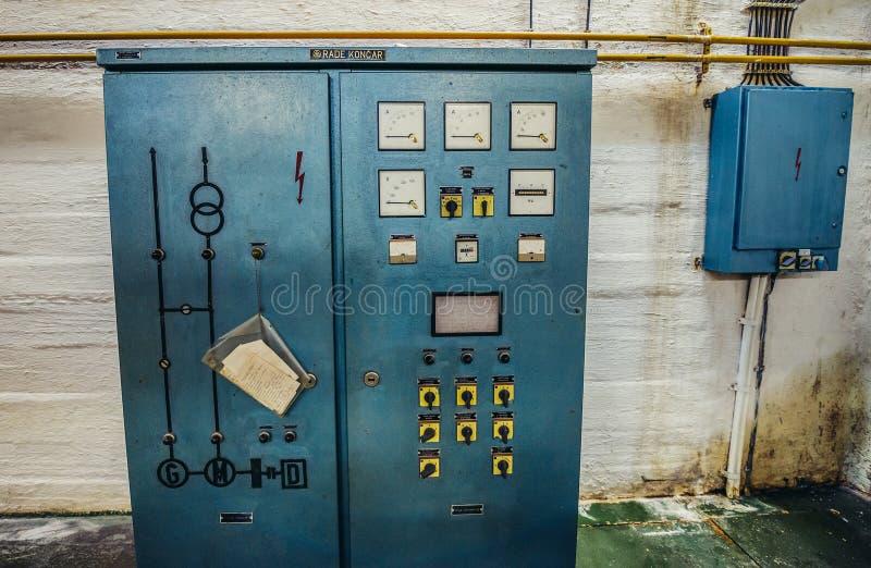 Josip Titos Bunker lizenzfreie stockfotografie