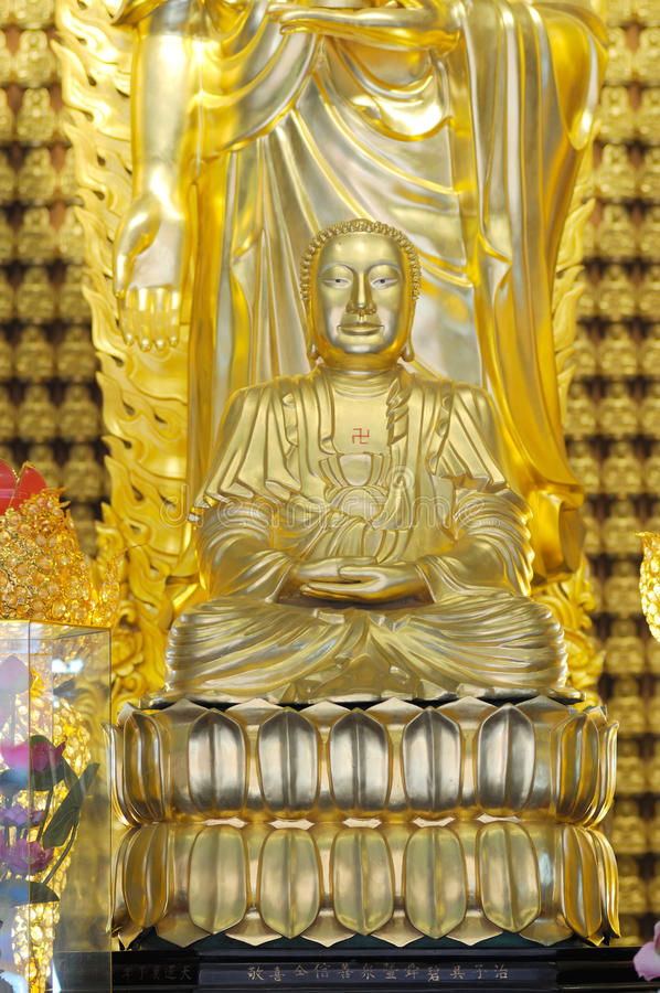 The joss adoration of buddhism royalty free stock images