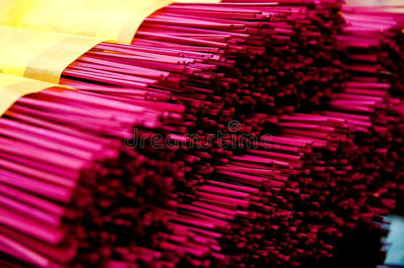 Download Joss Sticks stock photo. Image of tradition, colors, close - 2174298