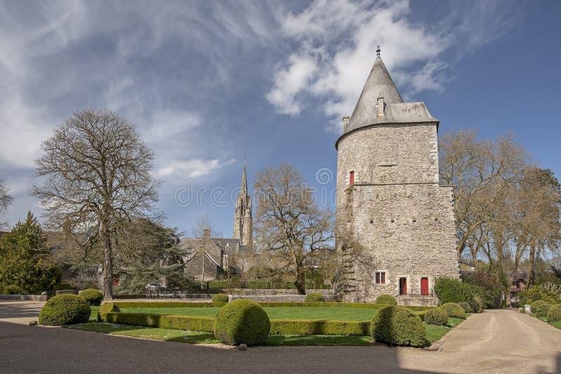 Josselin Castle lizenzfreies stockbild