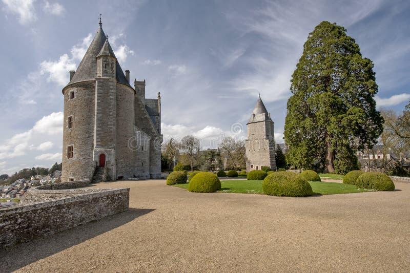 Josselin Castle royalty free stock images