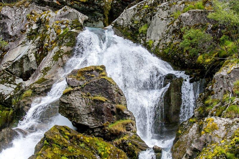 Jostedalsbreen国家公园,挪威 免版税库存图片