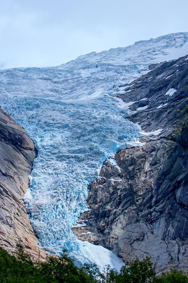 Jostedalsbreen国家公园,挪威 免版税图库摄影