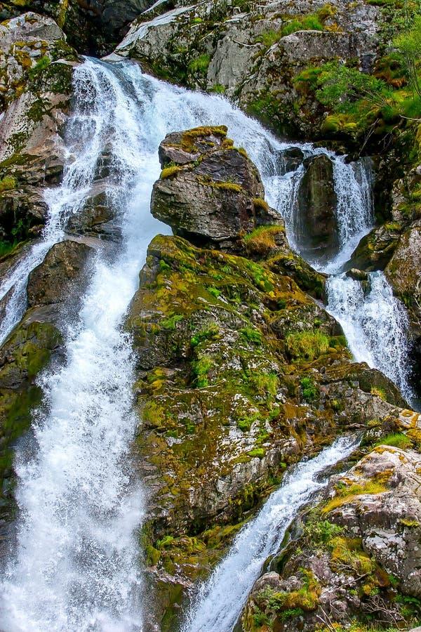 Jostedalsbreen国家公园,挪威 图库摄影