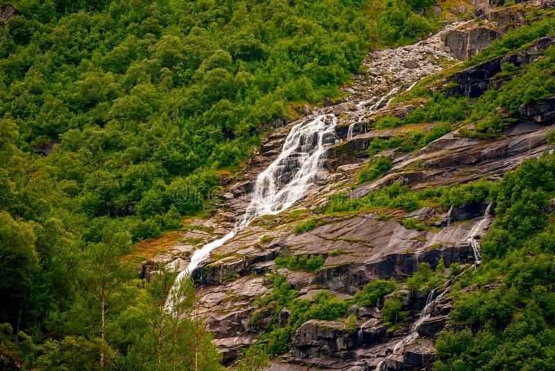 Jostedalsbreen国家公园,挪威 库存照片