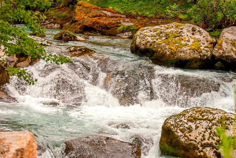 Jostedalsbreen国家公园,挪威 免版税库存照片