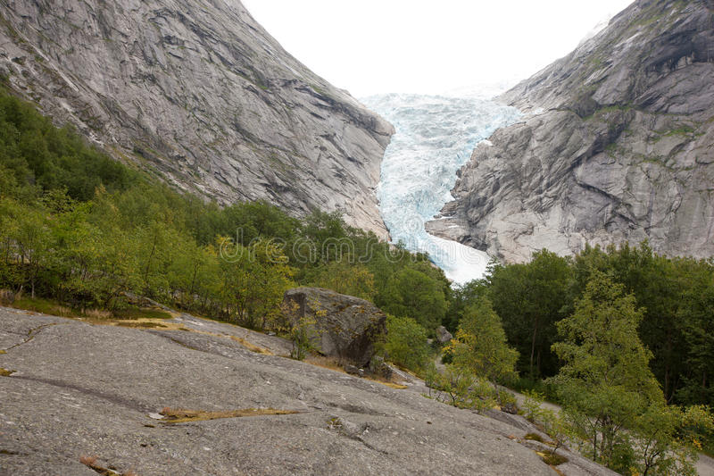 Jostedalsbreen image stock