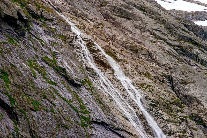 Jostedalsbreen nationalpark, Norge royaltyfria bilder
