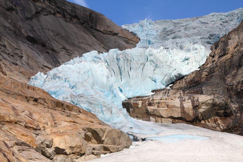 jostedalsbreen norway fotografering för bildbyråer