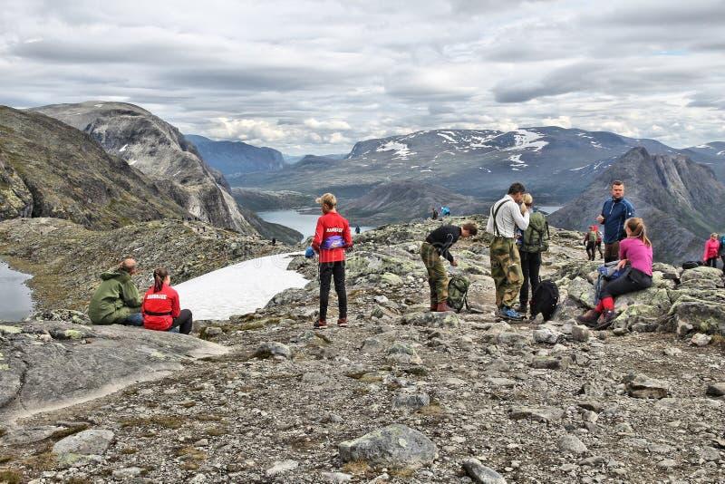 Jotunheimen, Νορβηγία στοκ φωτογραφία