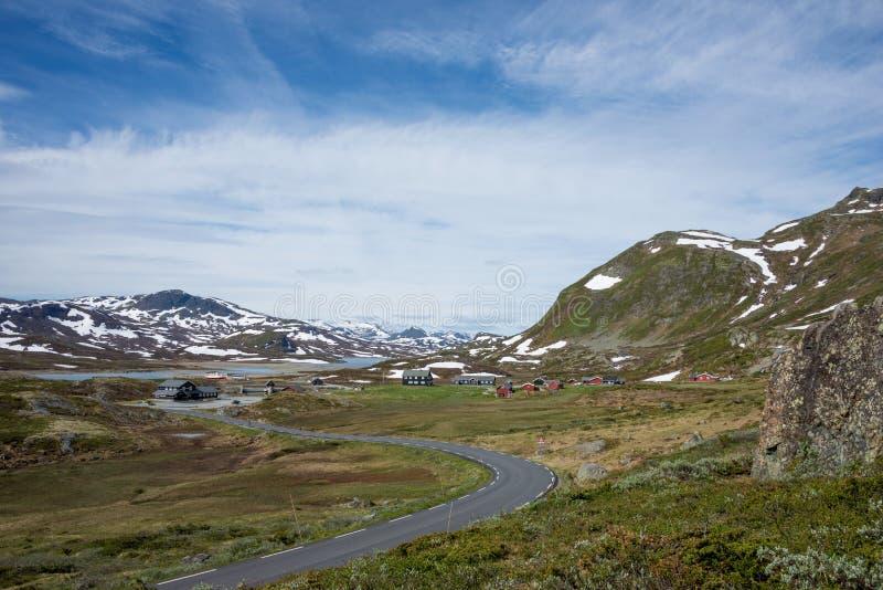 Jotunheimen landscape stock photography