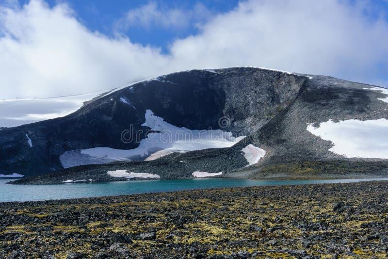 Jotunheimen Nationaal Park - Noorwegen royalty-vrije stock afbeeldingen