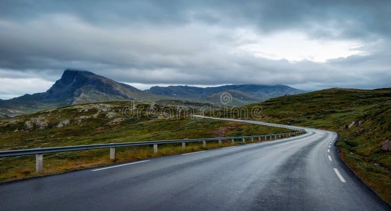 Jotunheimen Norge royaltyfria foton