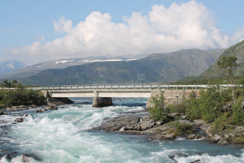 Jotunheimen Norge royaltyfri bild