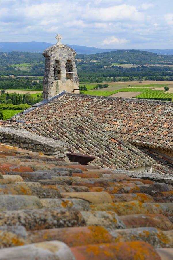 Joucas in de Provence stock afbeeldingen