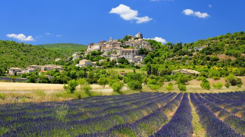 Joucas village in Provence stock photo