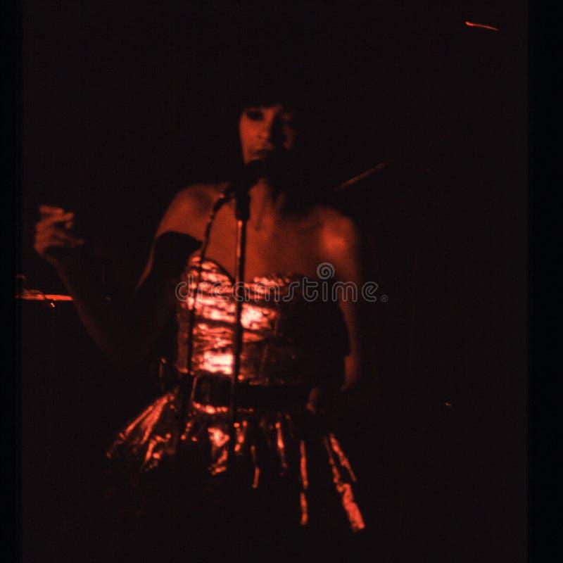 Jouer de bande de Shalamar vivent dans le début des années 1980 du R-U fin 1970 s images stock