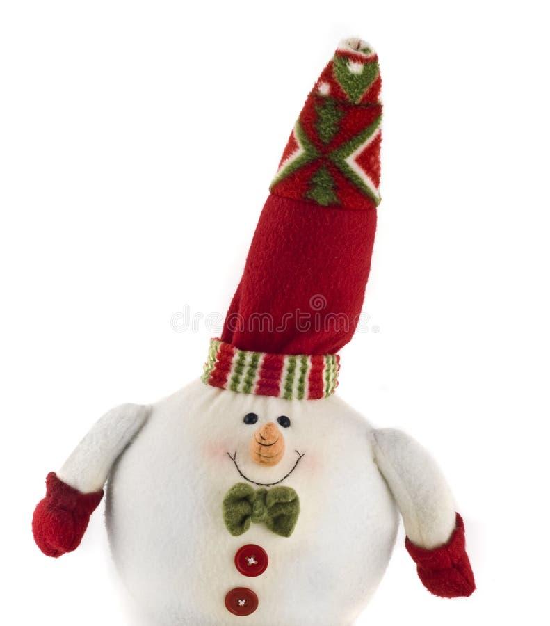 Jouet câlin mignon de décoration de Noël photos stock