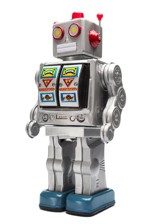 jouet de bidon de robot images libres de droits
